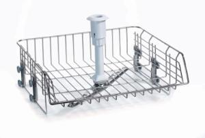 CS1-1 upper basket, stainless steel, with spray arm