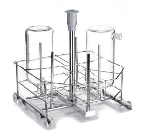 LBT5 jet rack, stainless steel, with 5 nozzles