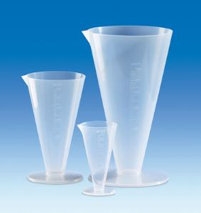Measuring cylinders, conical