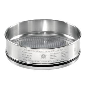 Test sieves, 300×30 mm, with square holes