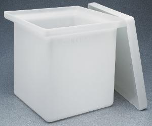 Tanks, rectangular, with cover, Nalgene®