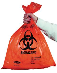 Biohazard bags, PP