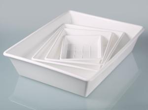 Laboratory trays, LaboPlast®