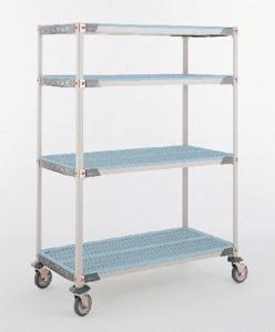Shelving systems, open grid, MetroMax i®