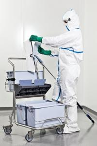VWR® Microfibre Mop cleaning system
