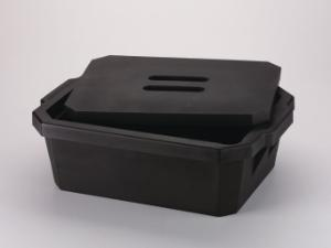 Ice pans, with or without lid